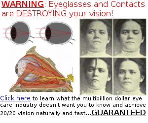 advertising for perfect eye sight