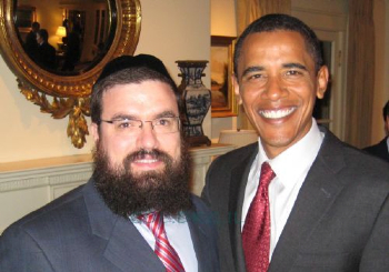 In Honor of Palestinians Obama-and-chabad-leader-levi-Shemtov