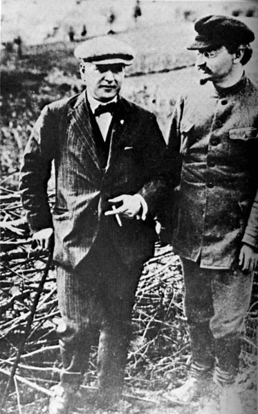 Rakovsky and Trotsky c. 1924