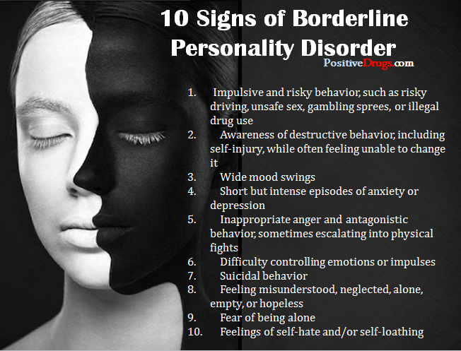 dating a female with borderline personality disorder Learn about the reality of women s borderline personality disorder withdrawals including the signs & symptoms of borderline personality disorder the rose, female-only drug addiction & co-occurring disorders treatment in california.