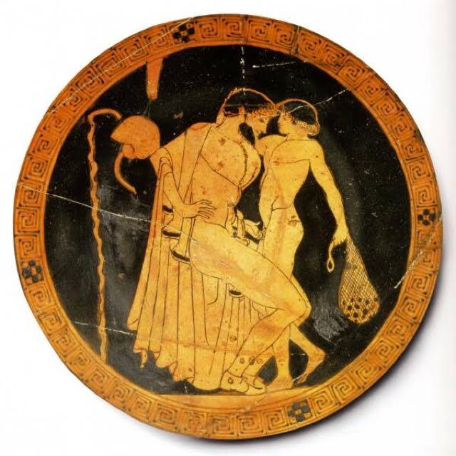Greek homosexuality art