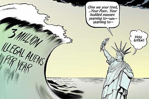 If illegal immigration is good for us, then why are some people against it?