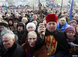 kiev Ukraine People Reject both their Government & Russia