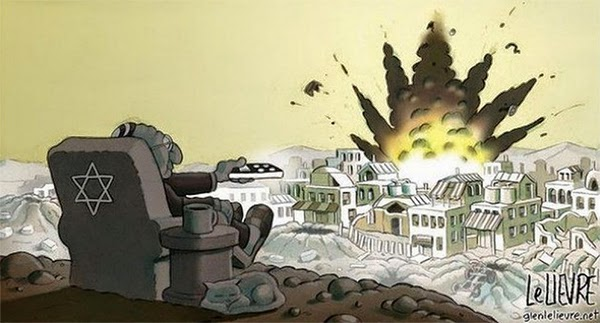 remote control bombing of Gaza.jpg