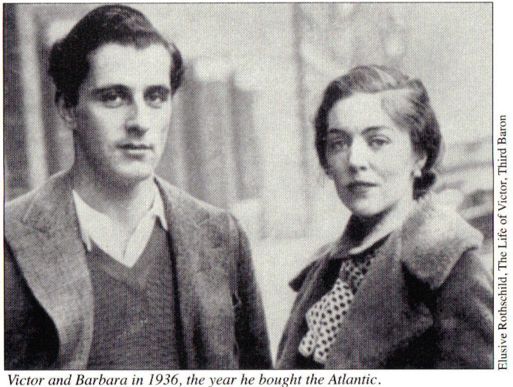 Victor und Barbara im Jahre 1936.