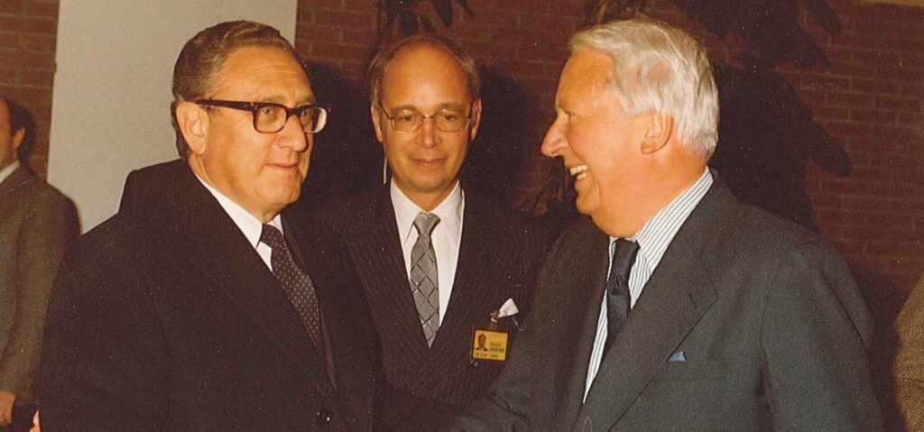"Klaus Schwab, Henry Kissinger und ""The Club of Rome"" 